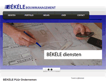 Tablet Preview of bekele.nl